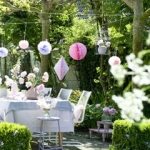 feestje tuin
